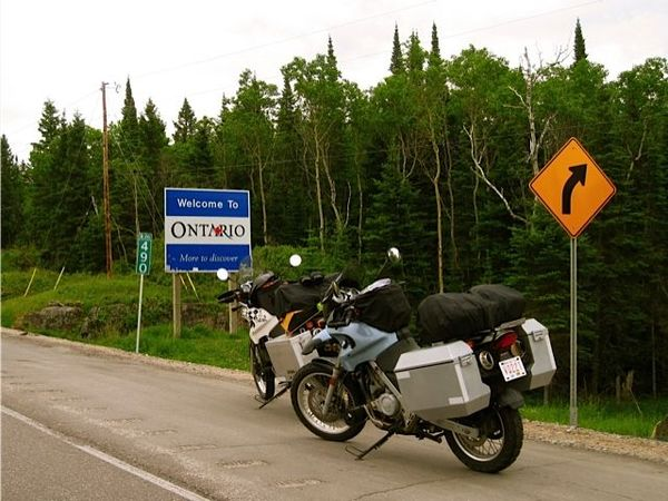 Rainy Ontario Border