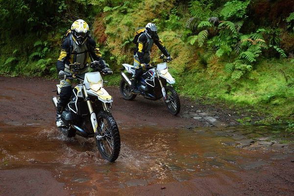 Riders putting the Rambler's Off-road components to good use