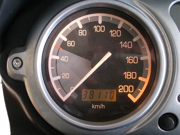 Sandra's Odometer at the start