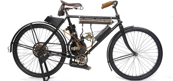 1905 Leo Two-Cycle by L.A. Mitchell Manufacturing Company