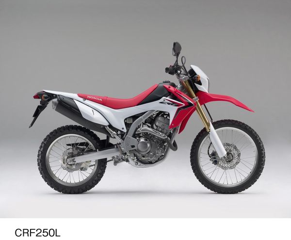 2013 Honda CRF250L - right side view