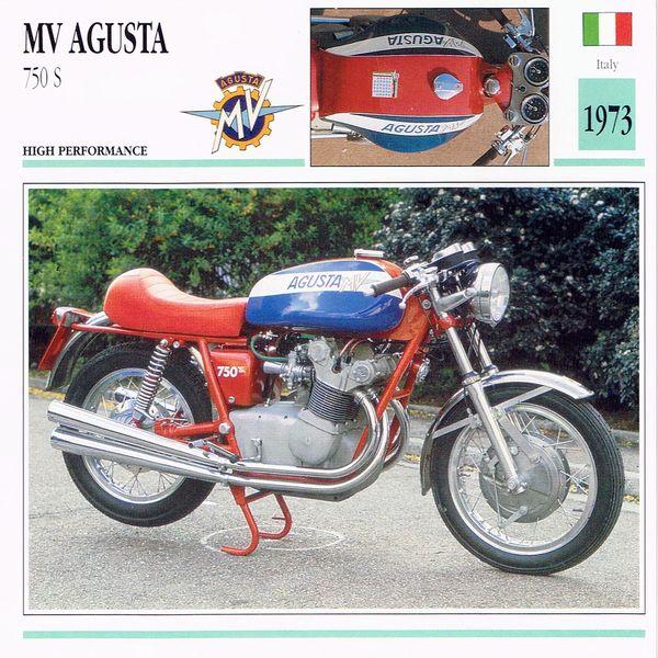 MV Agusta 750 S card