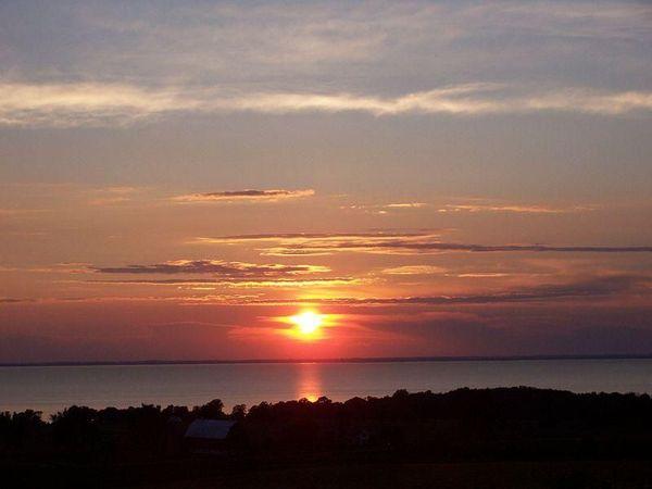 Lake Winnebago Sunset