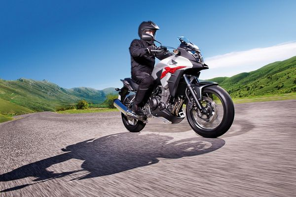 2013 Honda CB500X - in action