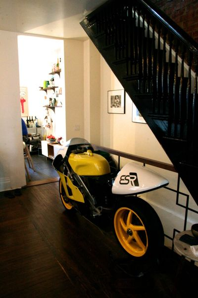 Motorcycle In My Living Room | Blogpost | EatSleepRIDE