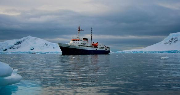 the Ushuaia, ferry to Antarctica