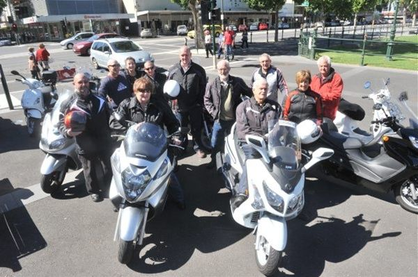 bendigo scooter club