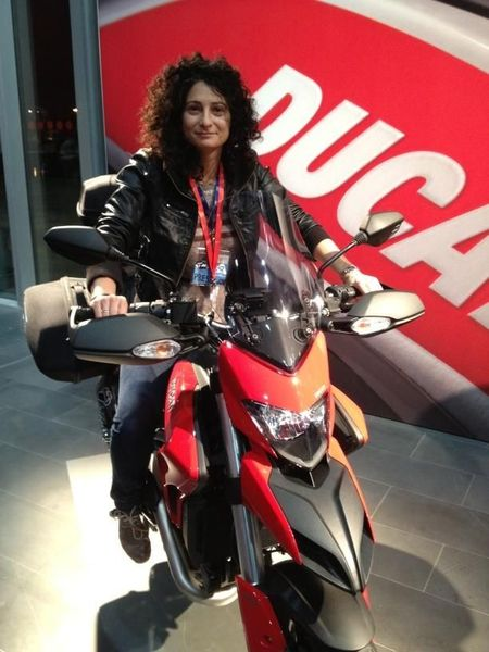 Ducati Hypermotard ride-out