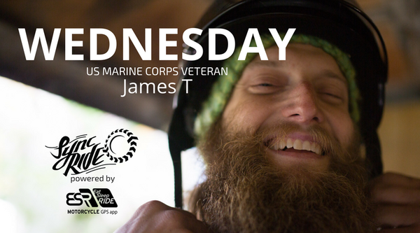Wednesday, wind up the Michigan coast with US Marine Corps Vet, James T