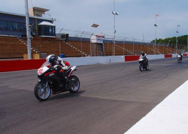 Honda CBR250 practice #csbk