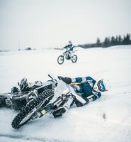 The Husqvarna Ice Rip: Studs, Sausages and the Unkillable Grin