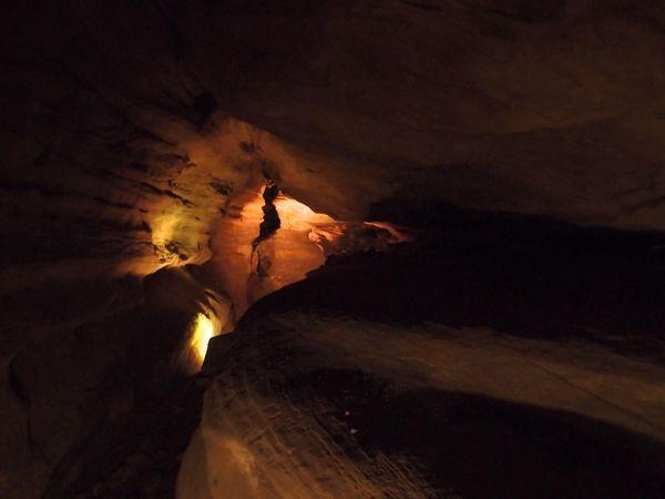 Laurel Cavern north tunnel