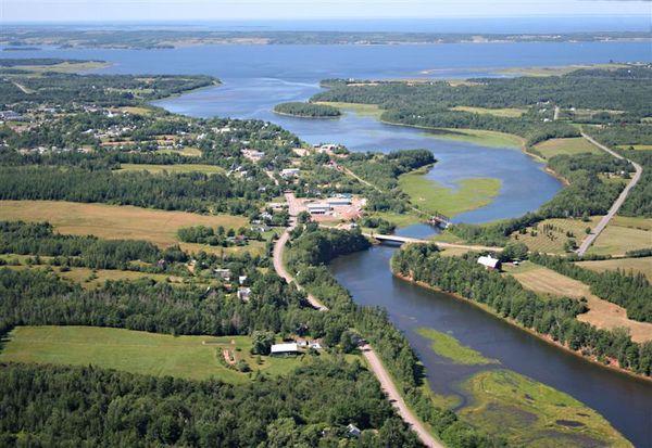 Tatamagouche, Nova Scotia from above
