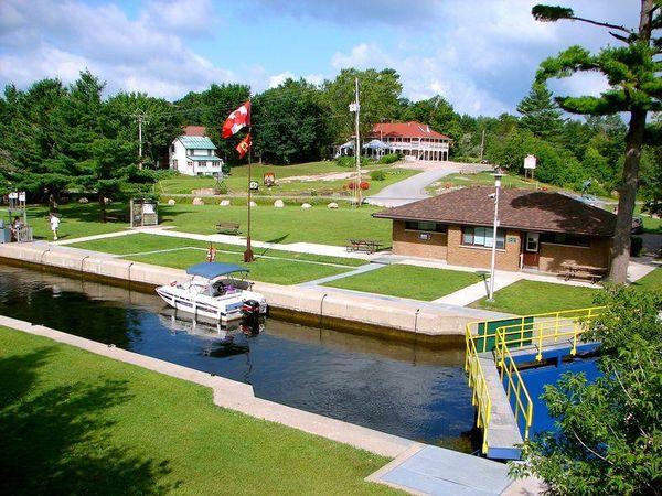 Buckhorn Locks, Ontario