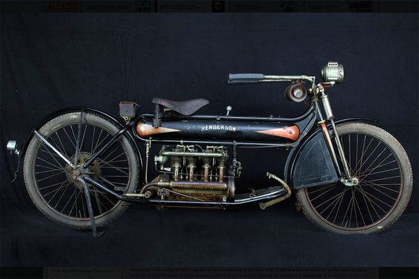 And the Highest Bid goes to: this 1912 Henderson Four, at 490K.