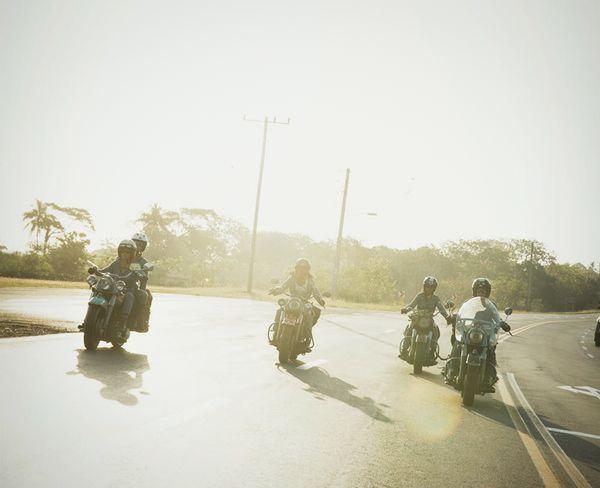 Arriving in Vinales, Cuba
