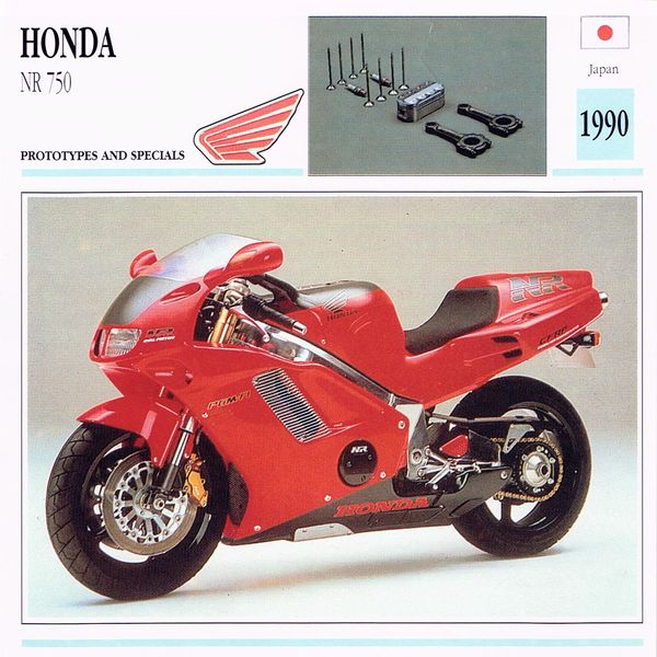 Honda NR 750 card