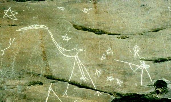 Petroglyphs in Kejimkujik National Park