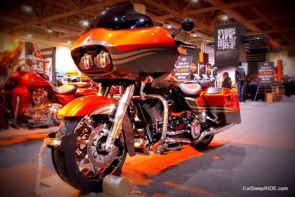 Harley Stand Toronto Show 2012