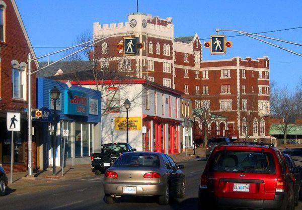 Downtown Kentville, Nova Scotia