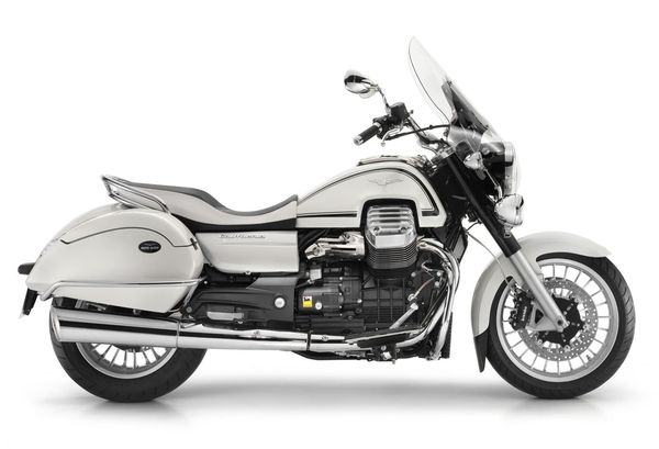 2013 Moto Guzzi California 1400 Touring Eldorado - right side view