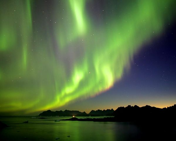 Aurora over Nordkapp