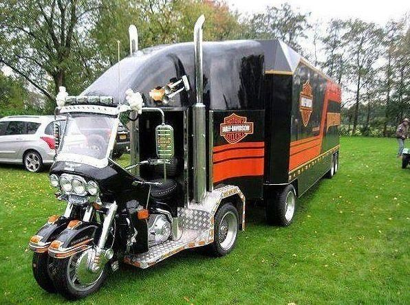 Harley Trailer from Show Harley