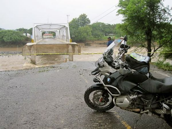 Another Bridge Washed Out