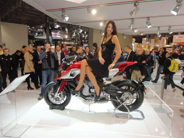 The Lastest Model From MV Agusta.  And The New Rivale 800