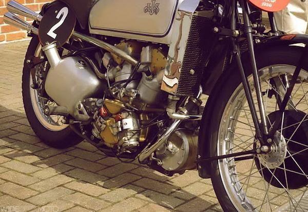 1939 AJS 500 Supercharged V4 engine