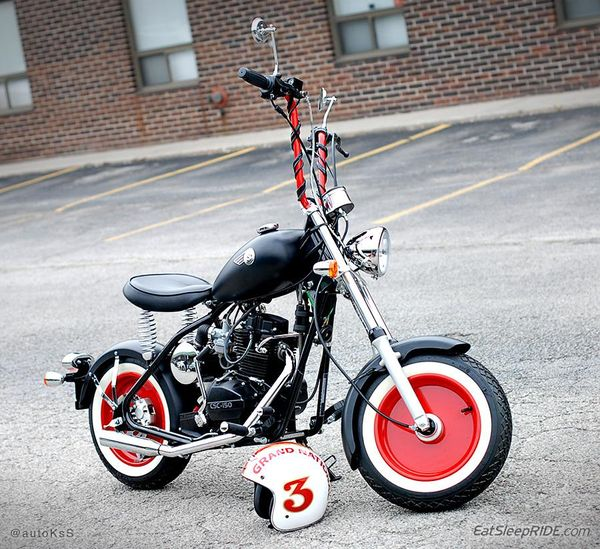 CSC Motorcycles Greaser (customized)