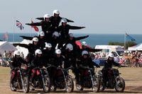 One Stunt Team Folds, Another Rises Up