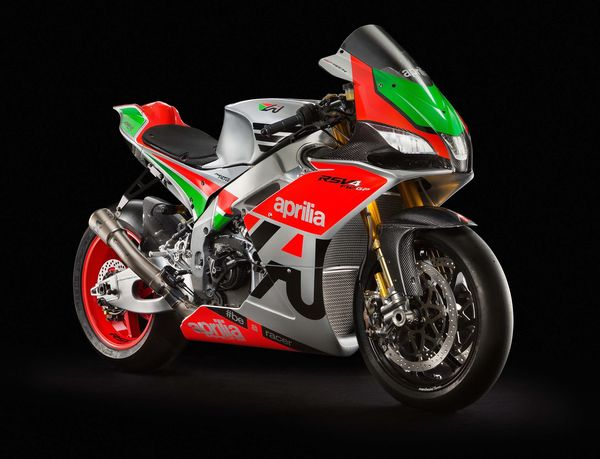 The 2017 Aprilia RSV4 FW GP