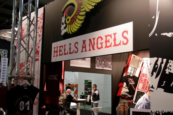 Hells Angels Booth at EICMA 2013