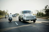 Touring Cuba on Classic Harley-Davidsons never looked this good