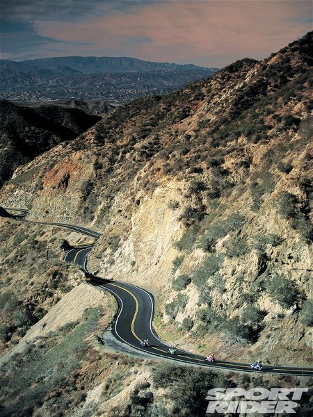 Angeles Crest riders - Photo Credit: Sport Rider - http://esr.cc/JyXuWR