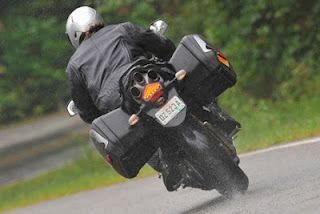 Riding in rain