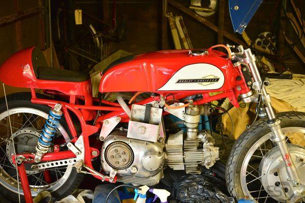 1961 Harley Davidson 250 Aermacchi Sprint | Quickimage | EatSleepRIDE