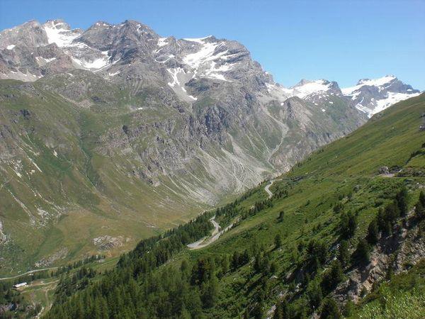 Col de l'Iseran Scenery