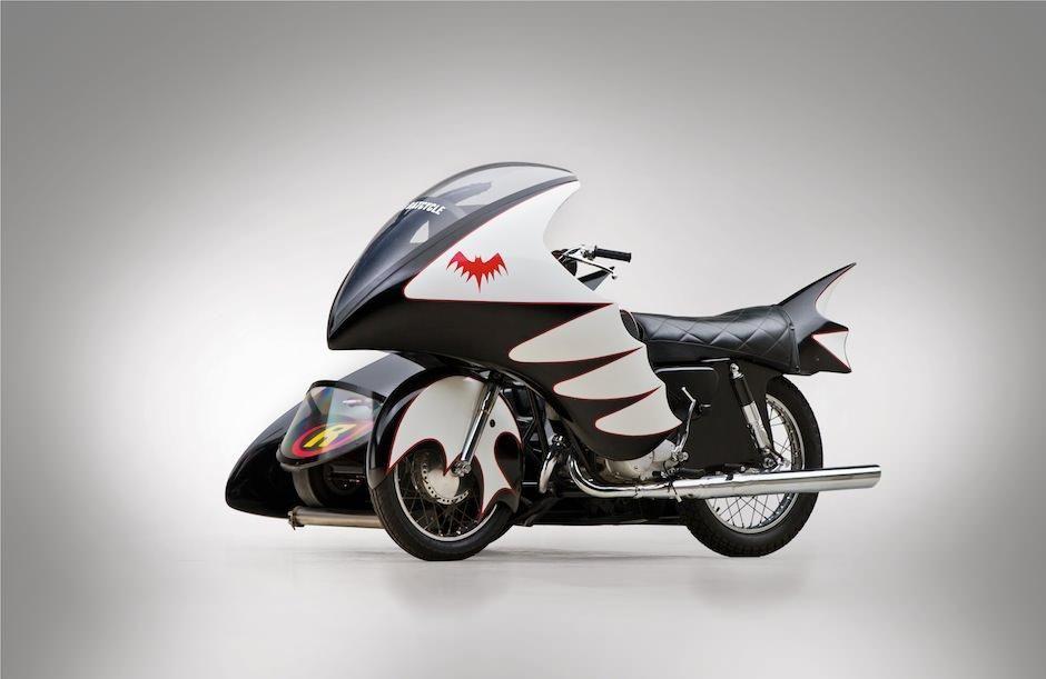 1966 Yamaha 250cc Batcycle Eatsleepride