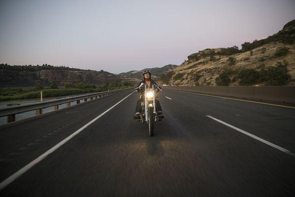 Riding the I-84 with Lanakila MacNaughton for EatSleepRIDE