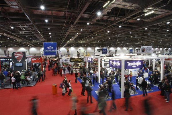 MCN London Motorcycle show - crowd