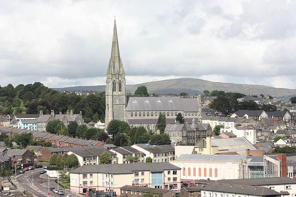 St Eugene's Cathedral in Londonderry, Ireland