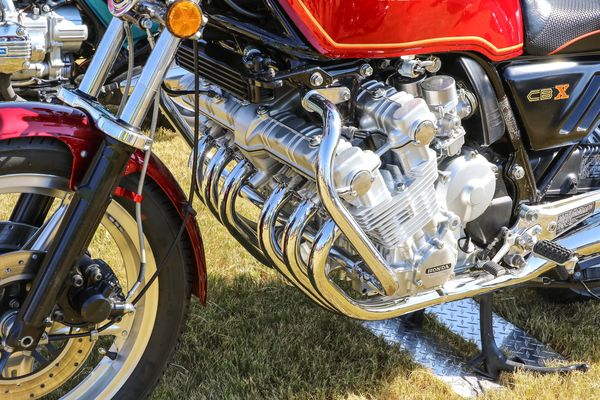 The Honda CBX. That's a lot of cylinders!