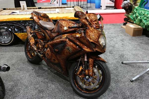 Custom bikes at the Sema Show 2012