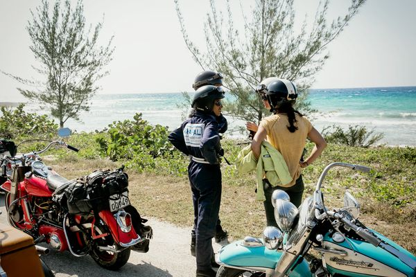 Cuba by motorcycle is amazing.