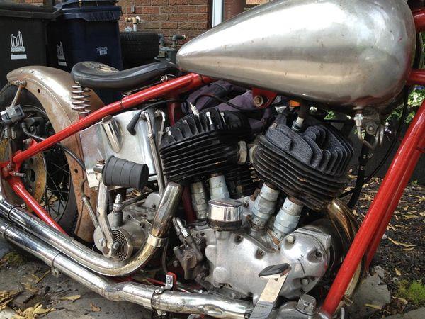 Rare 1944 U Model Harley Flathead | Bike | EatSleepRIDE