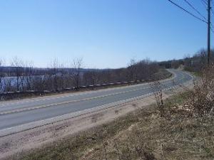 Route 105, Douglas, New Brunswick