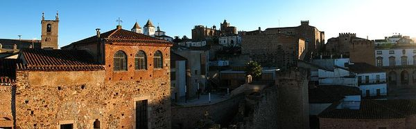UNESCO Word Heritage Site Old Town of Caceres, Extremadura
