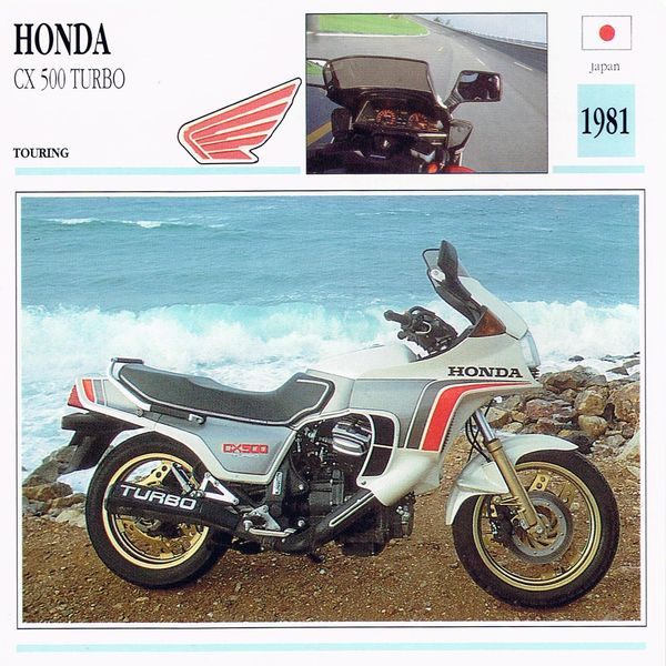 Honda CX 500 Turbo card